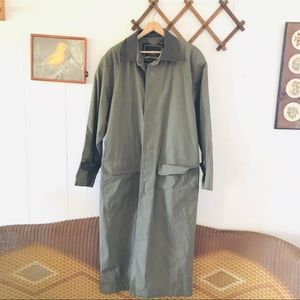 Structure Vintage Military Trench Coat